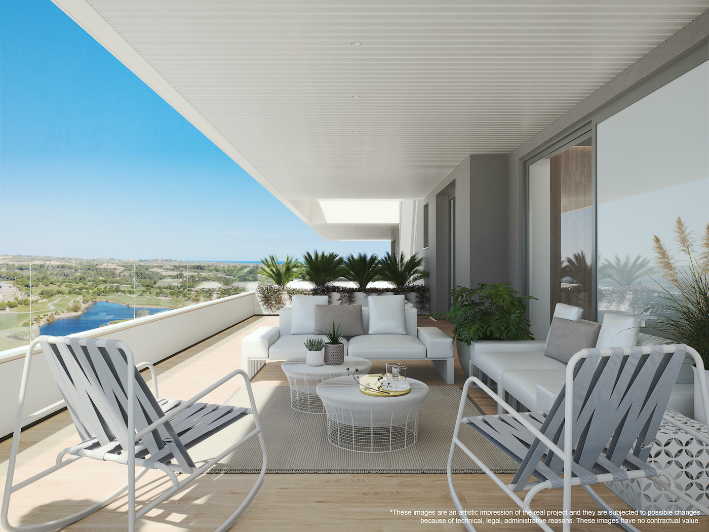 Beautiful Sea-View Apartment in Las Colinas Golf and Country Club