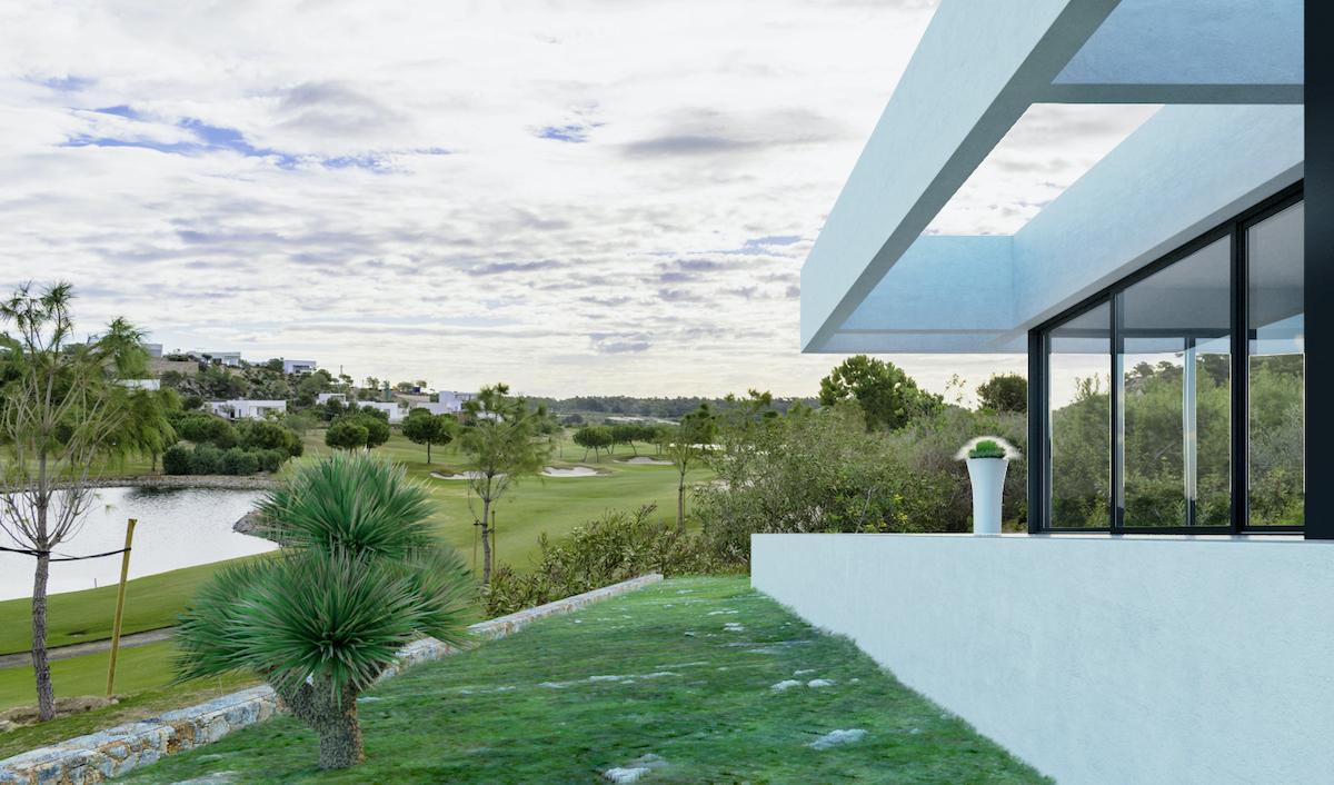 Madroño II second line Golf Villa