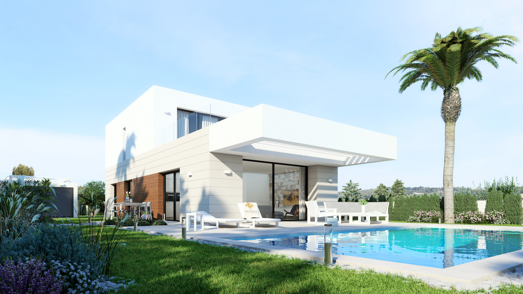 Detached 3 bedroom, 2 bath luxury villa in Los Montesinos